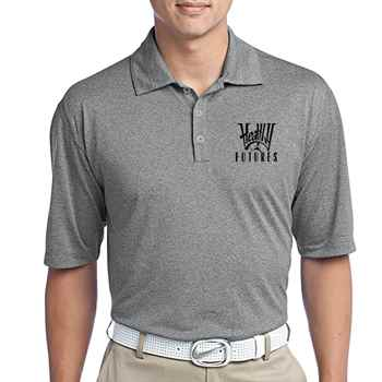 Nike® Men's Dri-FIT Heather Polo Shirt - Personalization Available
