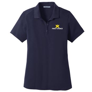 Port Authority® Women's SuperPro™ Knit Polo - Personalization Available