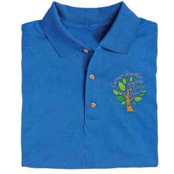 Caring Together, Touching Lives Forever Gildan® Dryblend Jersey Polo Shirt - Personalization Available