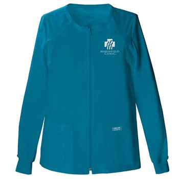 Cherokee® Core Stretch Women's Zip Front Warm-Up Jacket - Personalization Available