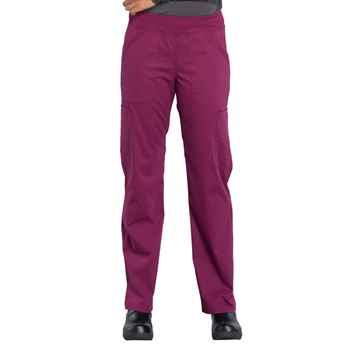 Women's Mid Rise Straight Leg Pull-On Cargo Pant
