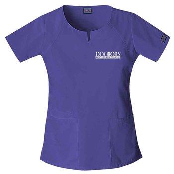 Cherokee® Originals Women's Round Neck Scrub Top - Personalization Available