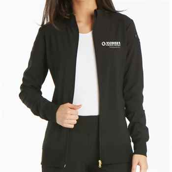 Women's Cherokee iFlex Zip Front Warm-Up Jacket- Embroidered Full Color Personalization Available