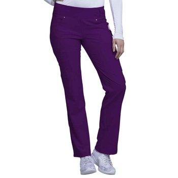 Cherokee® Women's iFlex Mid Rise Straight Leg Pull-On Scrub Pant