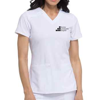 Dickies® Women's EDS Essentials V-Neck Scrub Top - Personalization Available
