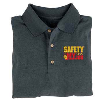 Safety: It's My Job Gildan® DryBlend Jersey Polo - Personalization Available
