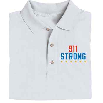 911 Strong Gildan® DryBlend Jersey Polo - Personalization Available