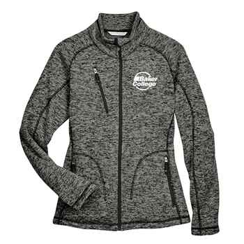 Ash City North End® Ladies' Peak Sweater Fleece Jacket - Personalization Available
