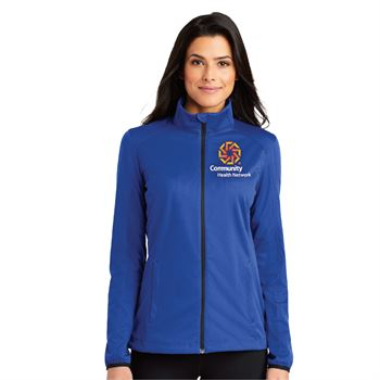 Port Authority® Ladies Active Soft Shell Jacket - Personalization Available
