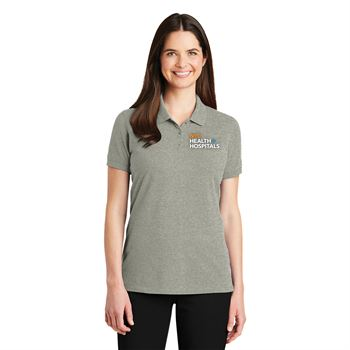 Port Authority® Women's EZCotton™ Short Sleeve Polo - Personalization Available