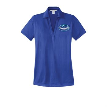 Port Authority® Ladies Performance Fine Jacquard Polo - Embroidery Personalization Available