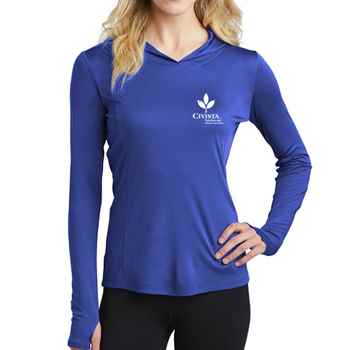 Sport-Tek® Ladies PosiCharge® Competitor™ Hooded Pullover - Personalization Available