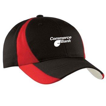 Sport-Tek® Dry Zone® Nylon Colorblock Cap - Personalization Available