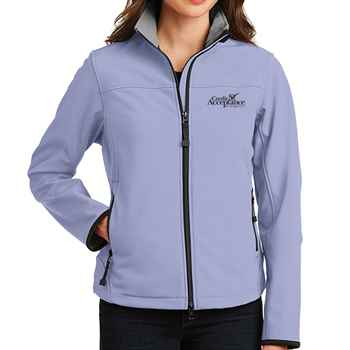 Port Authority® Ladies' Glacier® Soft Shell Jacket - Personalization Available