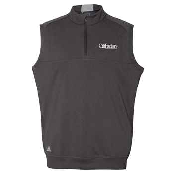 Adidas® Quarter-Zip Club Vest - Personalization Available