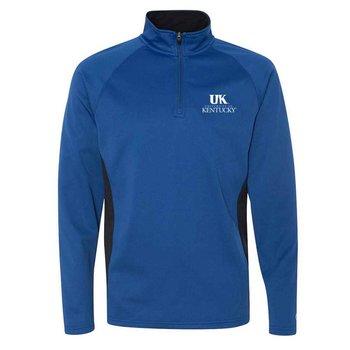 Champion® Men's Colorblocked Performance Quarter-Zip Sweatshirt - Personalization Available