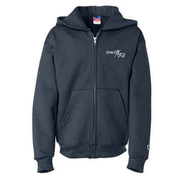 Champion® Double Dry® Eco Youth Full-Zip Sweatshirt - Personalization Available