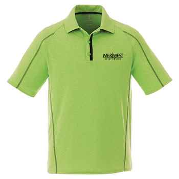 Elevate® Men's Macta Short Sleeve Polo Shirt - Heat Transfer Personalization Available