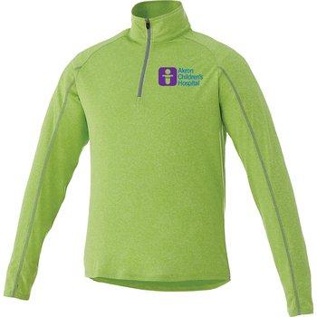 Elevate® Men's Taza Knit Quarter Zip - Heat Transfer Personalization Available