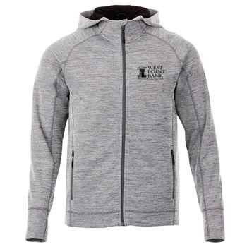 Elevate® Men's Odell Knit Zip Hoody - Heat Transfer Personalization Available