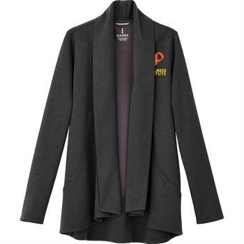 Elevate® Women's Equinox Knit Blazer - Heat Transfer Personalization Available