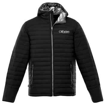 Elevate® Men's Silverton Packable Insulated Jacket - Heat Transfer Personalization Available