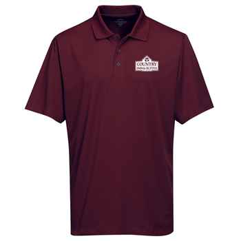 Tri-Mountain® Men's Vital Mini-Pique Performance Polo - Personalization Available