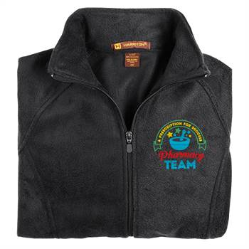 Pharmacy Team: A Prescription For Success Women's Harriton®  Fleece Full-Zip Jacket - Personalization Available