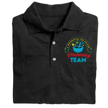 Pharmacy Team: A Prescription For Success Gildan® DryBlend Jersey Polo - Personalization Available