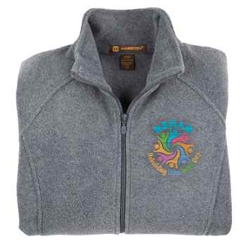 Rehab: Rebuilding Lives Every Day Women's Harriton® Fleece Full-Zip Jacket - Personalization Available