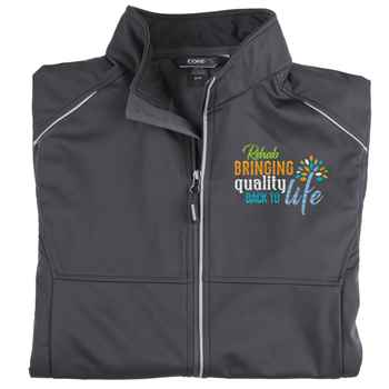 Rehab: Bringing Quality Back To Life Core 365® Men's Three Layer Knit Full-Zip Jacket - Personalization Available