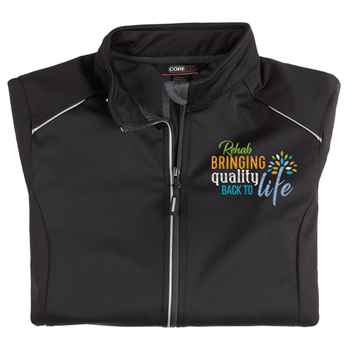 Rehab: Bringing Quality Back To Life Core 365® Women's Three Layer Knit Full-Zip Jacket - Personalization Available