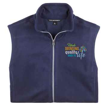 Rehab: Bringing Quality Back To Life Port Authority® Men's Full-Zip Microfleece Vest - Personalization Available
