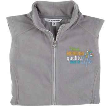 Rehab: Bringing Quality Back To Life Port Authority® Women's Full-Zip Microfleece Vest - Personalization Available