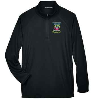 Food & Nutrition Services: Hands That Serve, Hearts That Care Devon & Jones® Stretch Tech-Shell Compass Quarter-Zip - Personalization Available