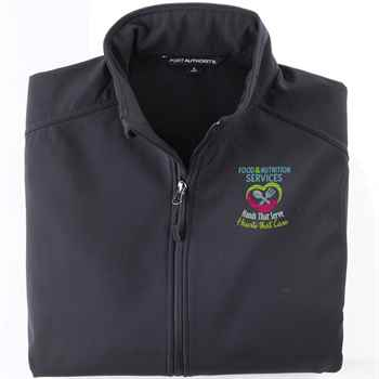 Food & Nutrition Services: Hands That Serve, Hearts That Care Port Authority® Core Soft Shell Jacket - Personalization Available