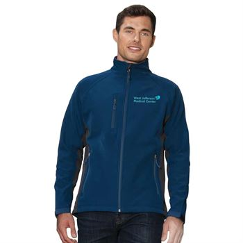 Fossa Apparel® Men's Tiburon Soft Shell Jacket - Embroidered Personalization Available
