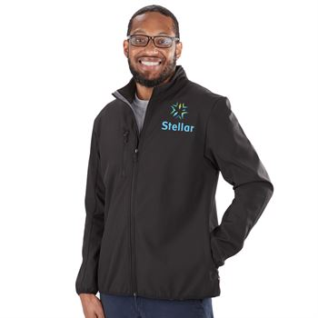 Clique� by Cutter & Buck� Men's Trail Soft Shell Jacket - Personalization Available