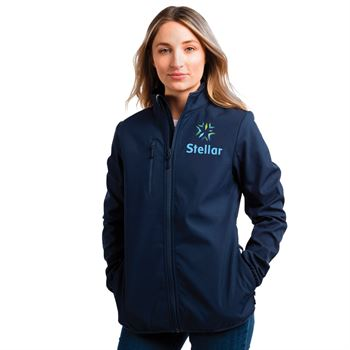 Clique® by Cutter & Buck® Women's Trail Soft Shell Jacket - Personalization Available