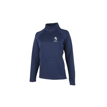 Charles River Apparel Women's Seaport Quarter Zip Sweater - Personalization Available