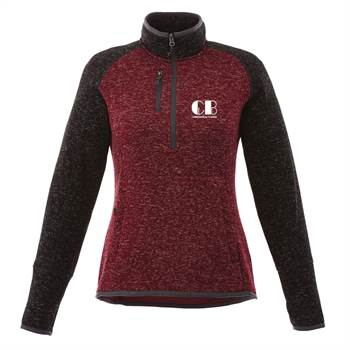 Elevate® Women's Vorlarge Half-Zip Knit Jacket - Personalization Available