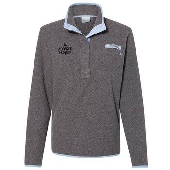 Columbia® Women's PFG Harborside Fleece Pullover - Personalization Available