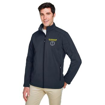 Core 365� Men's Cruise Two-Layer Fleece Bonded Soft Shell Jacket - Personalization Available