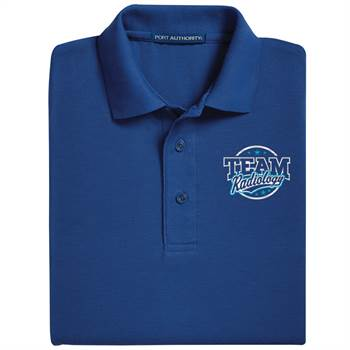 Team Radiology Port Authority® Silk Touch Polo - Personalization Optional