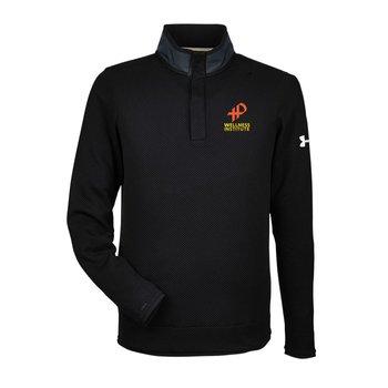 Under Armour Corporate Quarter Snap Up Sweater Fleece