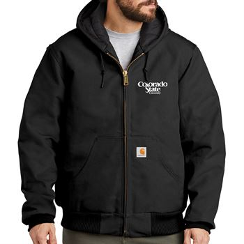 Men's Carhartt® Quilted-Flannel-Lined Duck Active Jacket - Personalization Available
