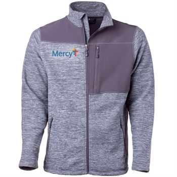 Fossa Apparel® Men's Sequoia Thermo-Fleece Jacket - Embroidered Personalization Available