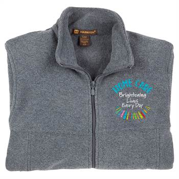 Home Care: Brightening Lives Every Day Harriton® Full-Zip Fleece Jacket - Personalization Available