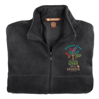 Hospice Care: Touching Lives, Lifting Spirits Harriton® Full-Zip Fleece Jacket - Personalization Available
