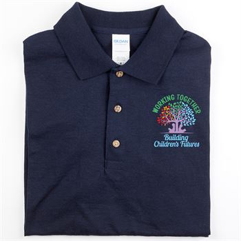 Working Together Building Children's Futures Gildan® DryBlend Jersey Polo - Personalization Available